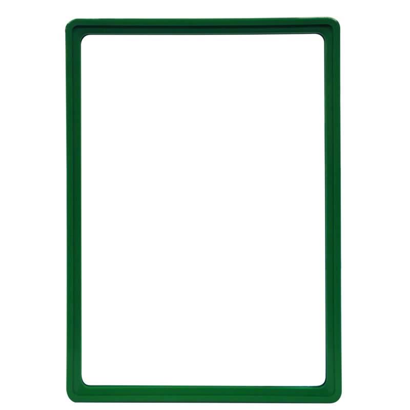 Display-Rahmen ohne PVC-Folie A4 grün