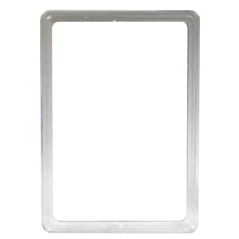 Display frame without pvc sheet A5 transparant
