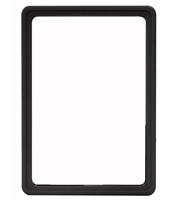 Presentatie raam A5 inschuif zonder sheets 148 x 210 mm zwart