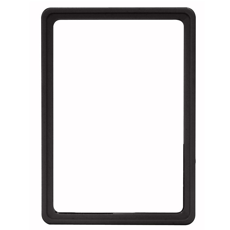 Display frame without pvc sheet A5 black