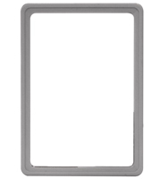 Presentatie raam A5 inschuif zonder sheets 148 x 210 mm grijs