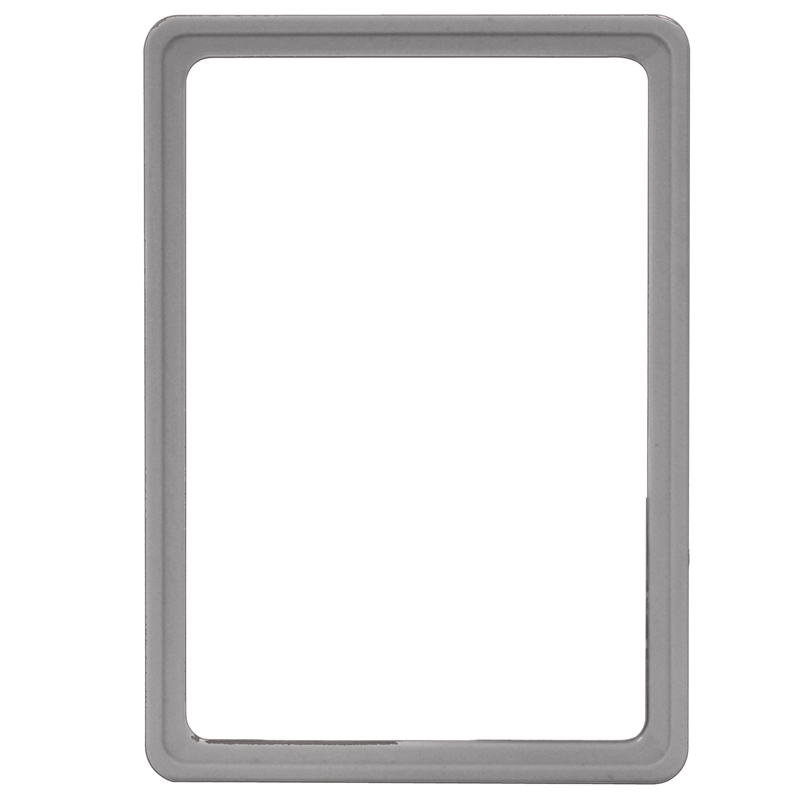 Display frame without pvc sheet A5 grey