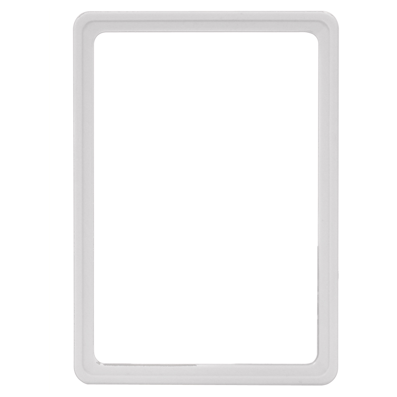 Display frame without pvc sheet A5 white
