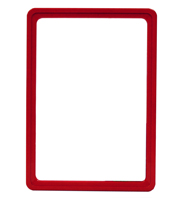Presentation Frames without sheets, A5, red
