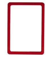 Presentatie raam A5 inschuif zonder sheets 148 x 210 mm rood