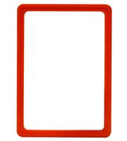 Presentatie raam A5 inschuif zonder sheets 148 x 210 mm oranje