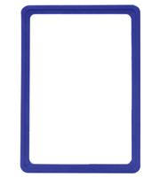 Presentatie raam A5 inschuif zonder sheets 148 x 210 mm blauw