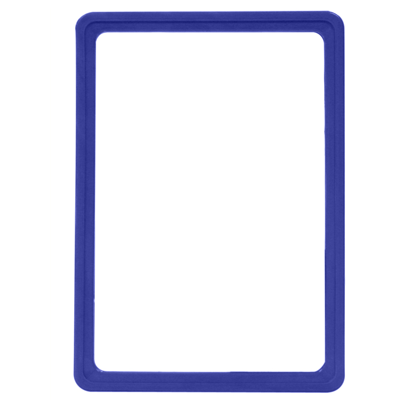Display frame without pvc sheet A5 blue