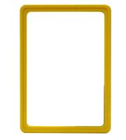 Presentatie raam A5 inschuif zonder sheets 148 x 210 mm geel