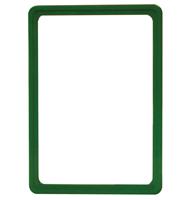Presentatie raam A5 nschuif zonder sheets 148 x 210 mm groen