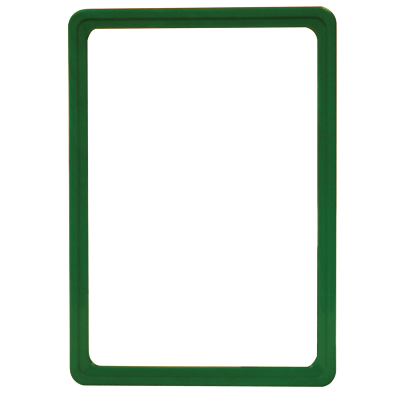 Display frame without pvc sheet A5 green