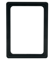 Presentation Frames without sheets, A6, black