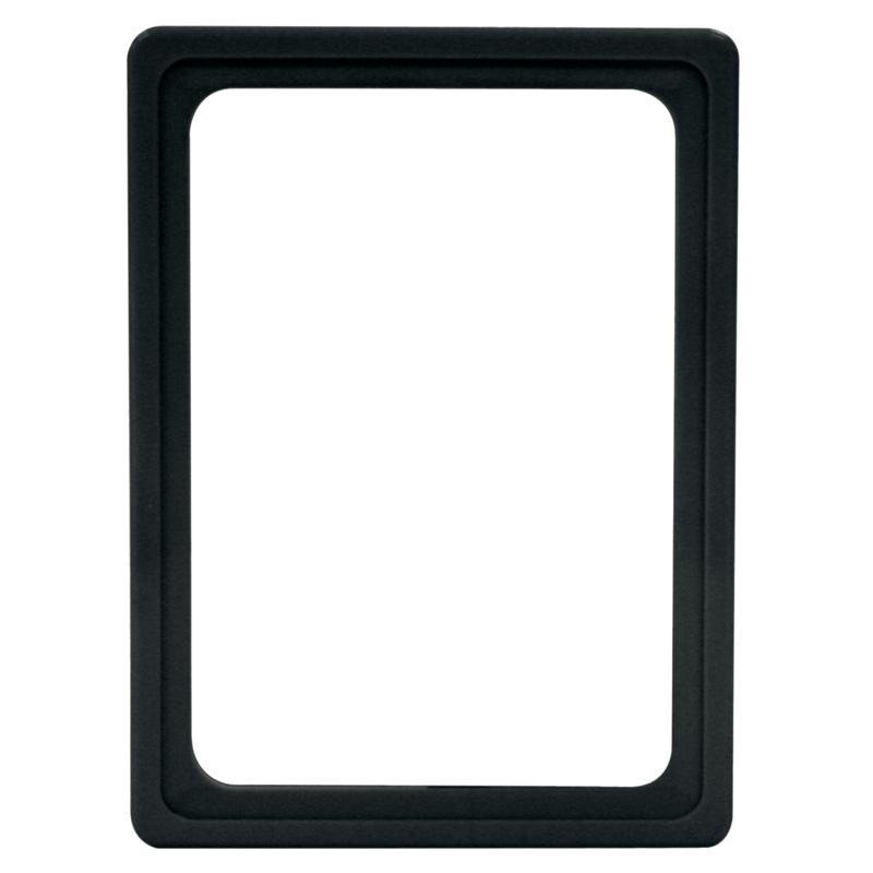 Display-Rahmen ohne PVC-Folie A6 schwarz