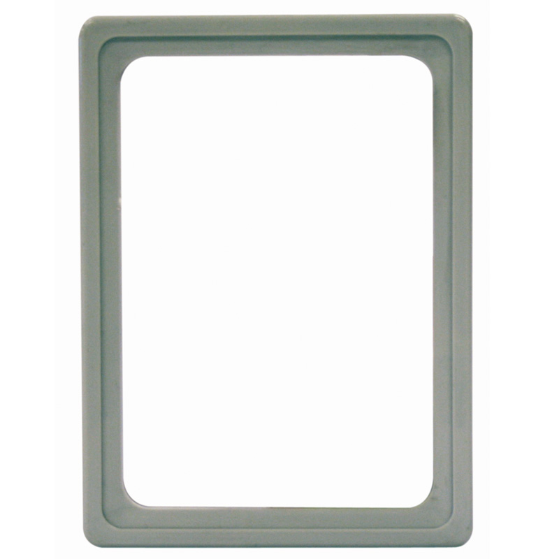 Display frame without pvc sheet A6 grey