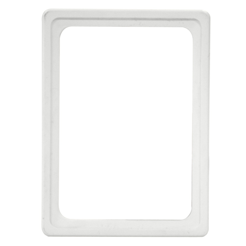 Display frame without pvc sheet A6 white