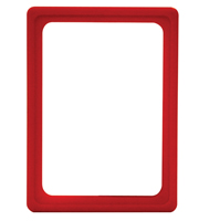 Presentation Frames without sheets, A6, red
