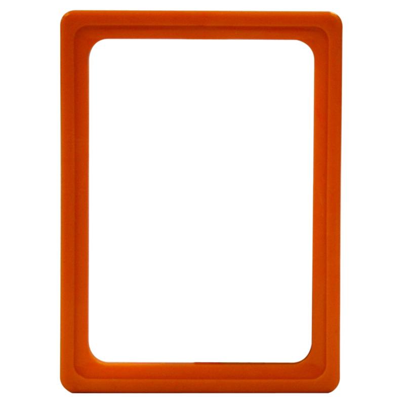 Display frame without pvc sheet A6 orange