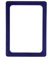 Presentatie raam A6 inschuif zonder sheets 105 x 148 mm blauw
