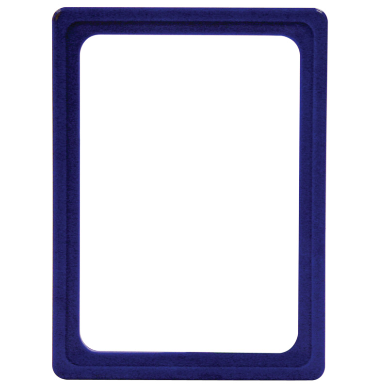 Display frame without pvc sheet A6 blue