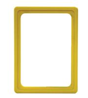 Presentatie raam A6 inschuif zonder sheets 105 x 148 mm geel