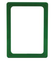Presentatie raam A6 inschuif zonder sheets 105 x 148 mm groen