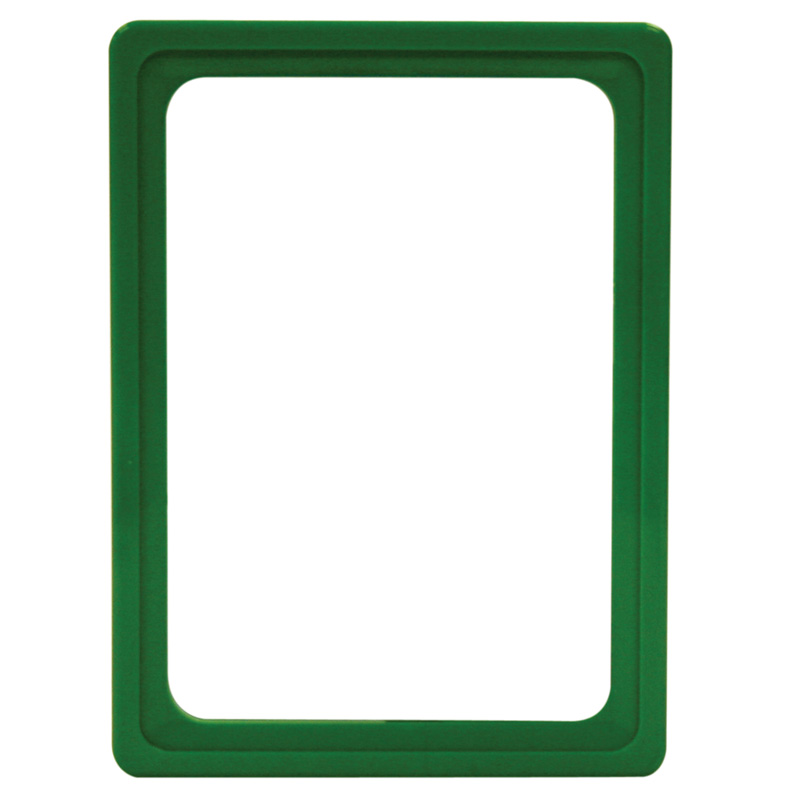 Display frame without pvc sheet A6 green