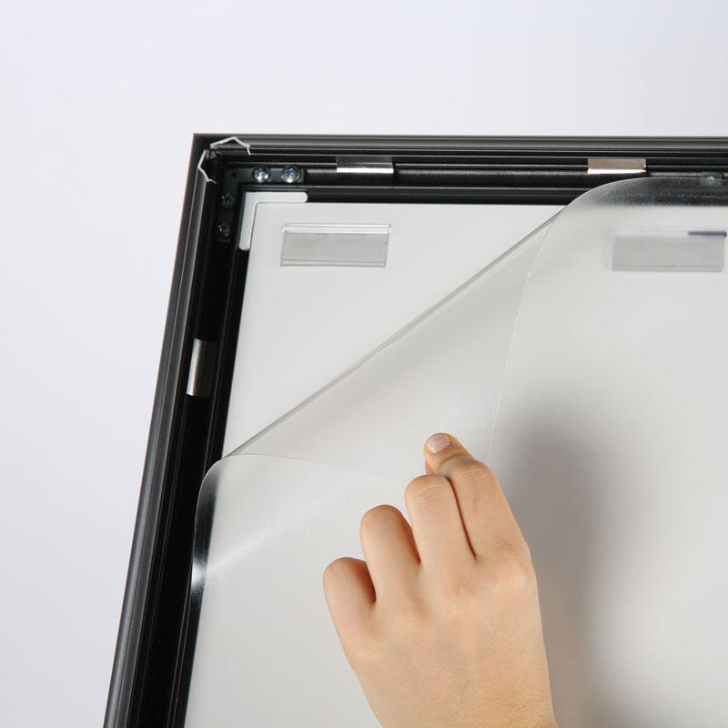 Paper board sign holder