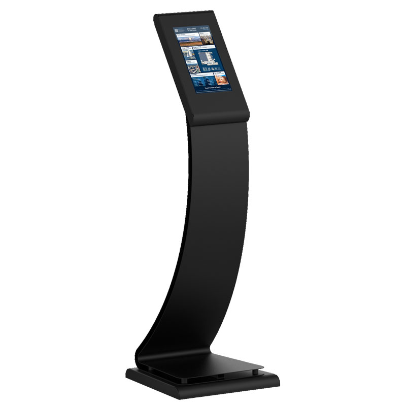 Cobra digital kiosk standing without speakers