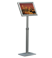 Flexible menuboard with adjustable height and opti frame A3