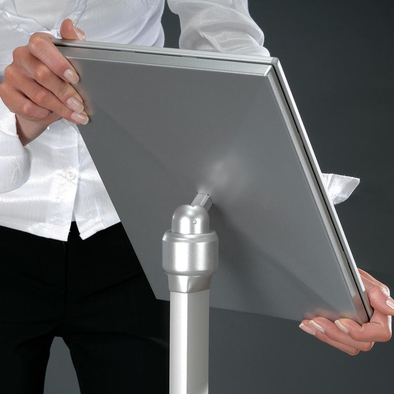 Flexible menuboard with opti frame A4