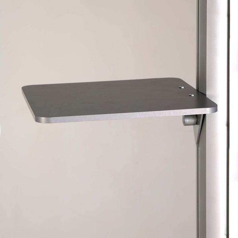 Freestanding plank, 250 x 250 mm, capaciteit 5 kg