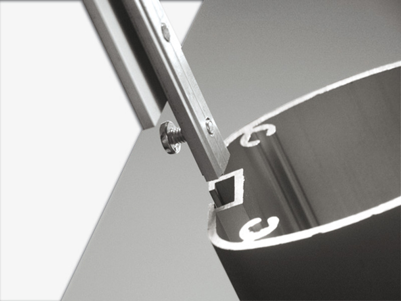 Header for free standing dispenser A4