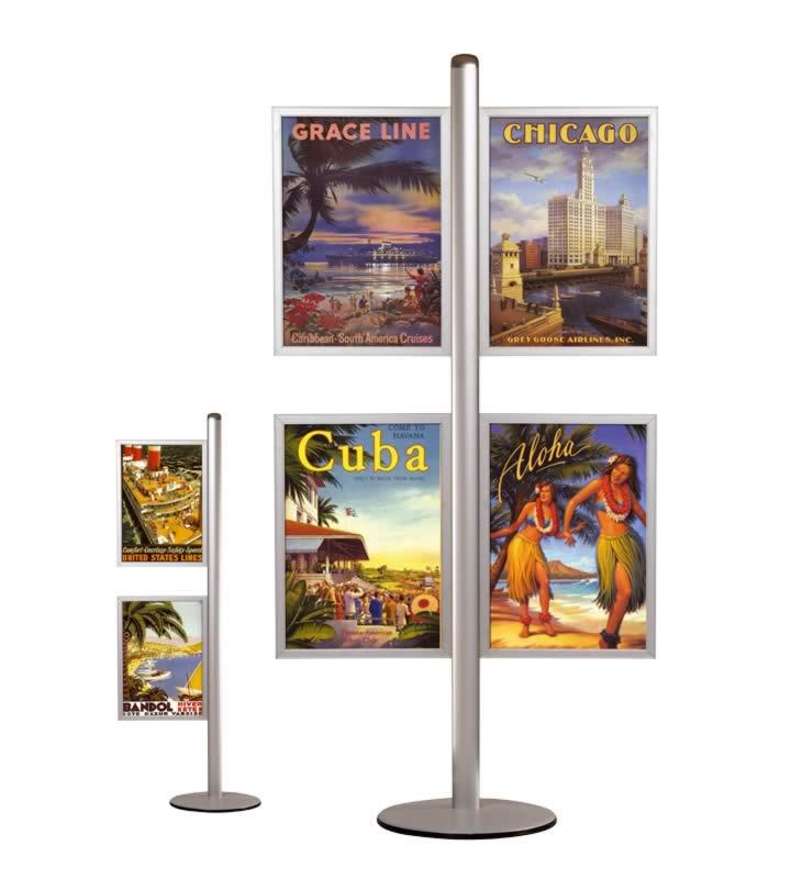 Freestanding slide-in frame A2