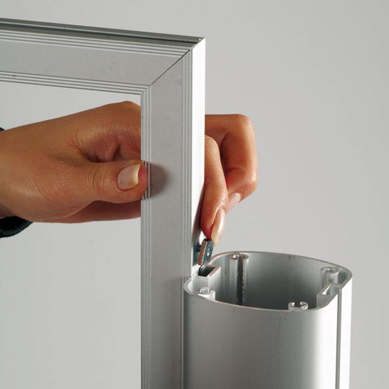 Freestanding slide-in frame A3