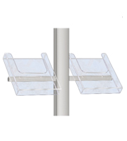 Folderhouder 1/3 A4 t.b.v. freestanding staander