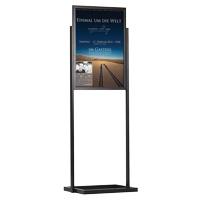 Eco infobord B2 enkelraams dubbelzijdig 500 x 700 mm