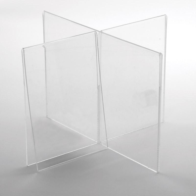 Cross frame acrylic 4 x A5