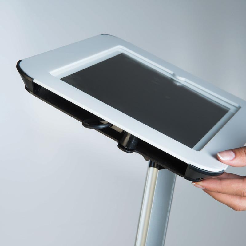Novel Kiosk für das iPad schwarz Oberteil