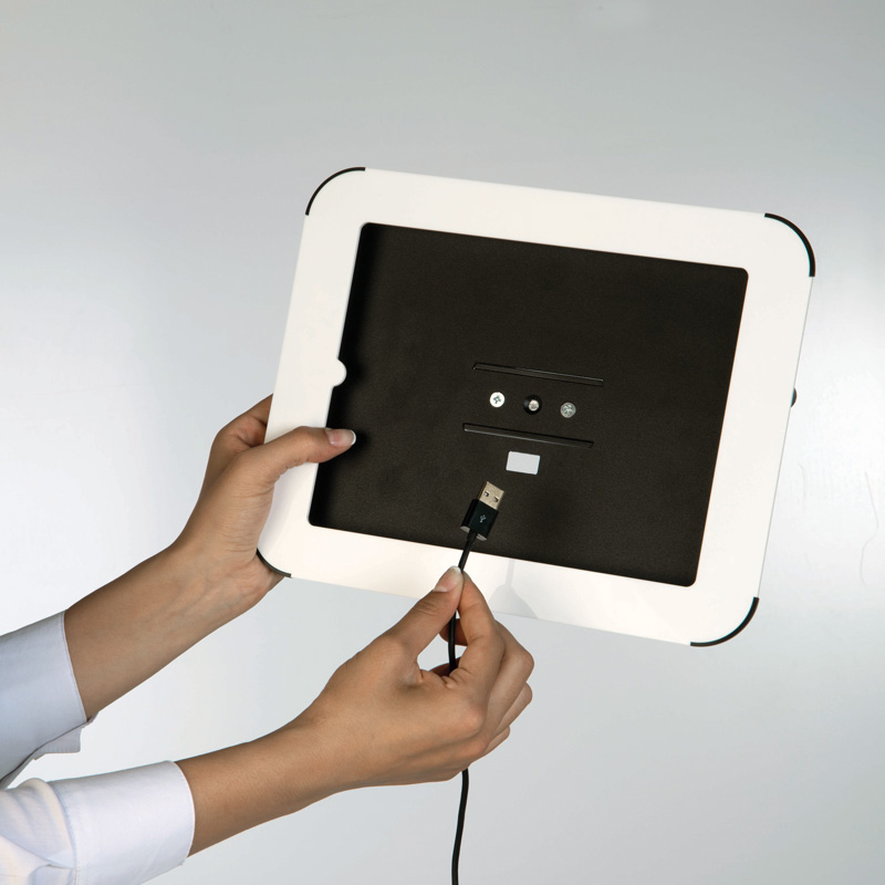 Novel Kiosk for the iPad, black top