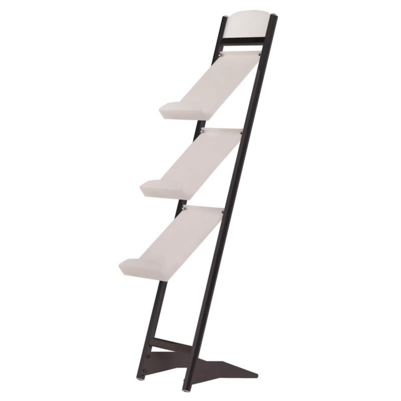 Rapid brochure set black 3 tiers