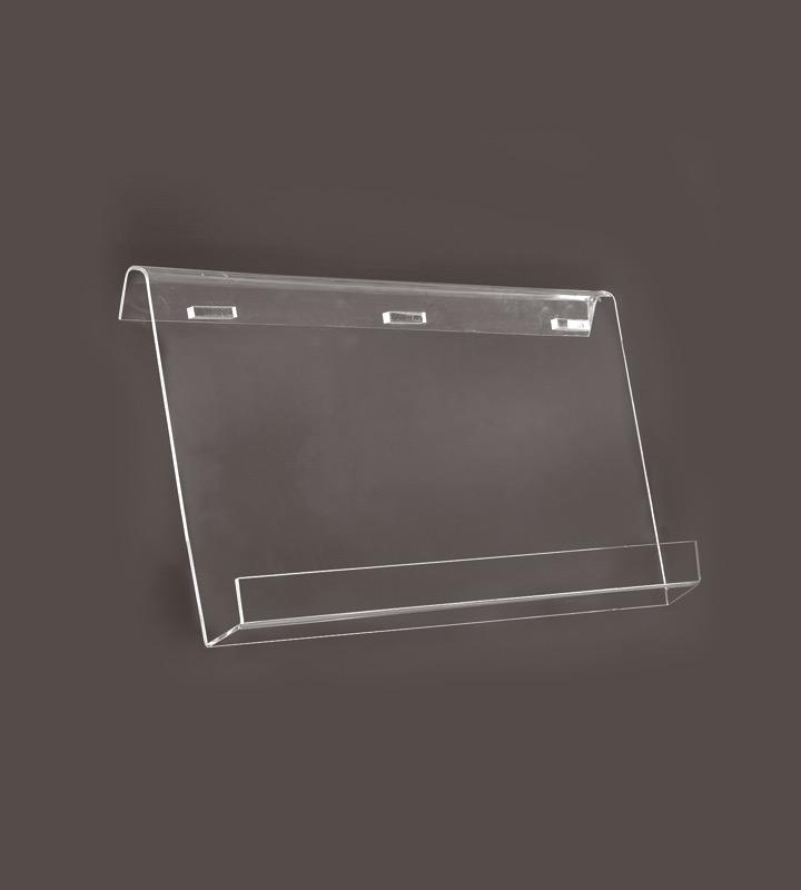 Acrylic shelf single-sided 2 x A4