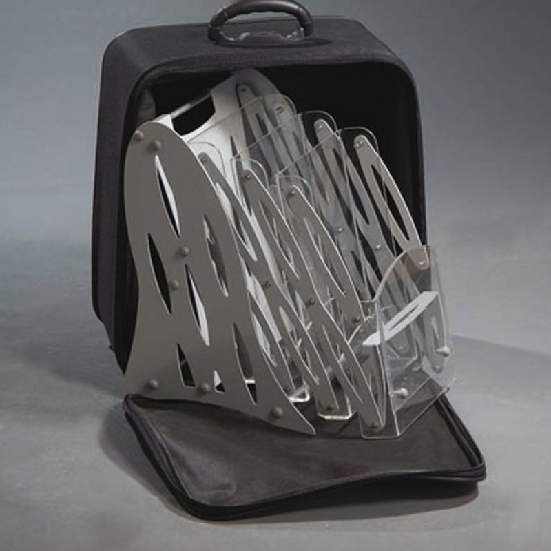 Portable Zick-Zack acrylic