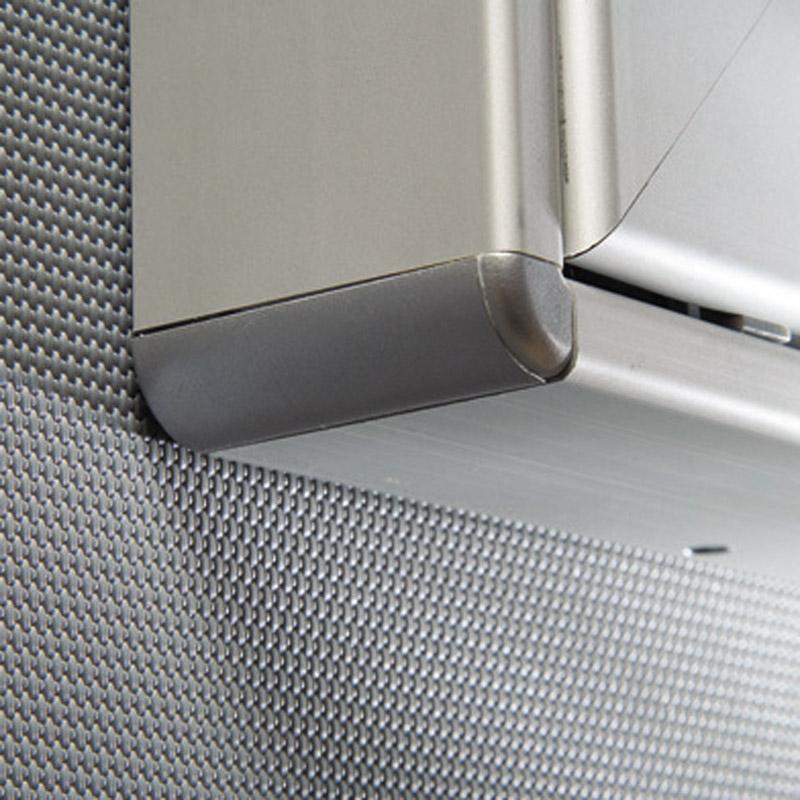 Notitiebord, magnetisch en kurk, 12xA4