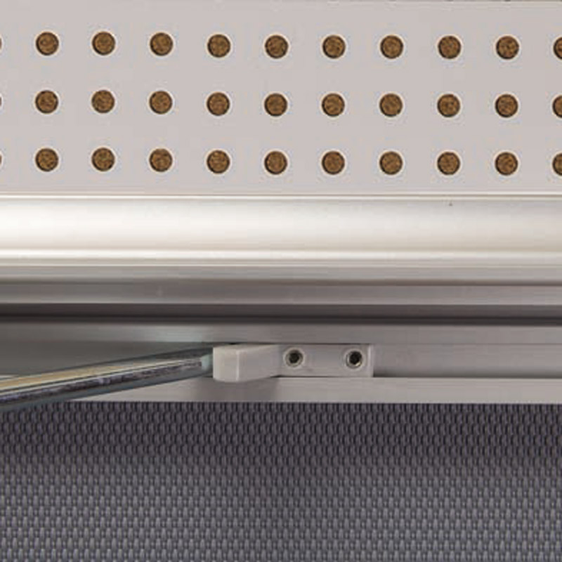 Showbord magnetisch en kurk afsluitbaar, 6 x A4