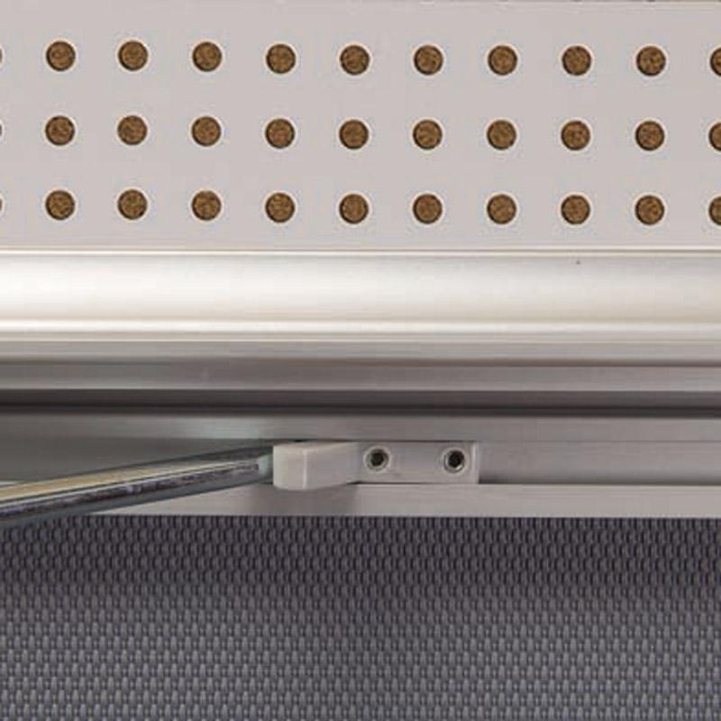 Showbord magnetisch en kurk afsluitbaar, 9 x A4