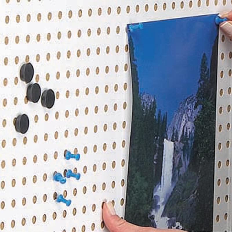 Showbord magnetisch en kurk afsluitbaar, 12 x A4