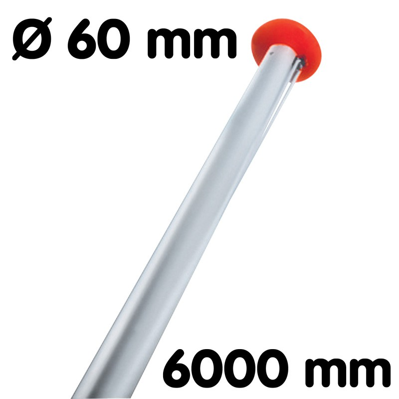 Flagpole diameter 60 mm length 6 m