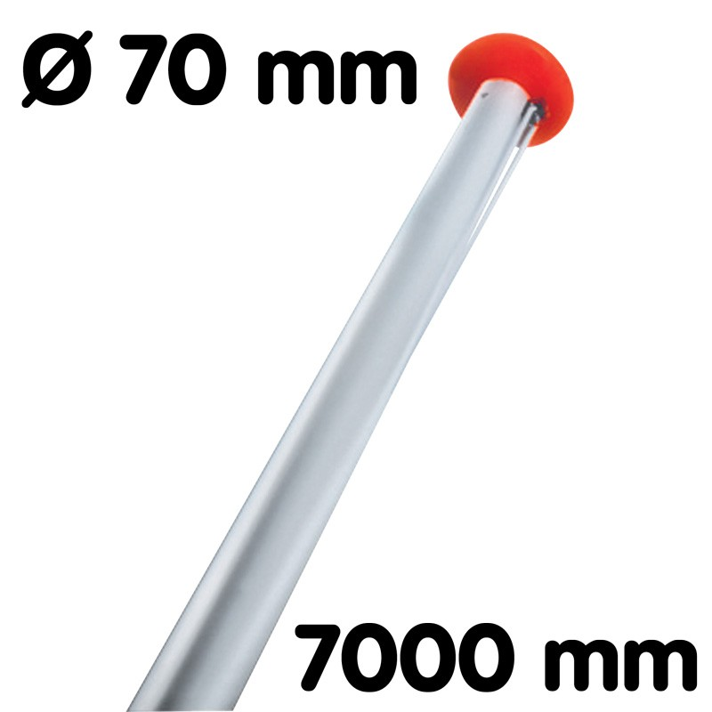Flagpole diameter 70 mm length 7 m