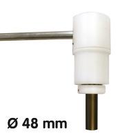 Porte-bannière, Ø 48 mm