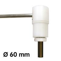 Porte-bannière, Ø 60 mm